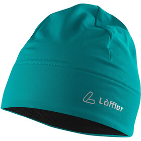 Löffler Mono Thermo-Velours-Light Bonnet, lagoon